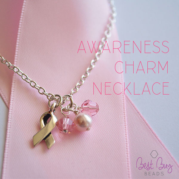 Awareness Charm Necklace