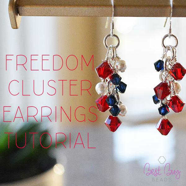 Freedom Cluster Earrings