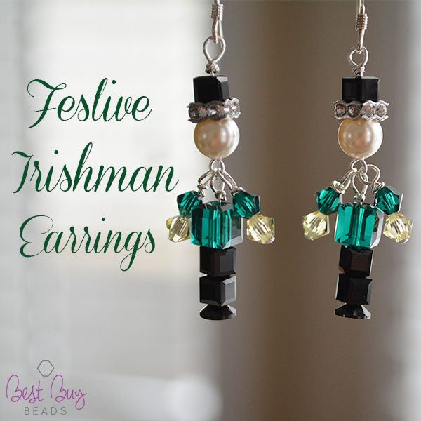 Festive Irishman Earrings