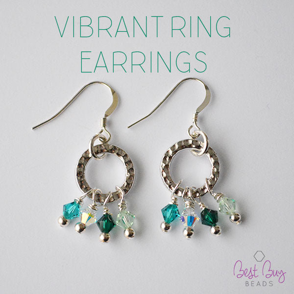 Vibrant Ring Earrings