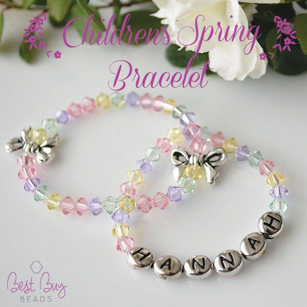 childrens spring bracelet - Beaded Bracelet Design Ideas