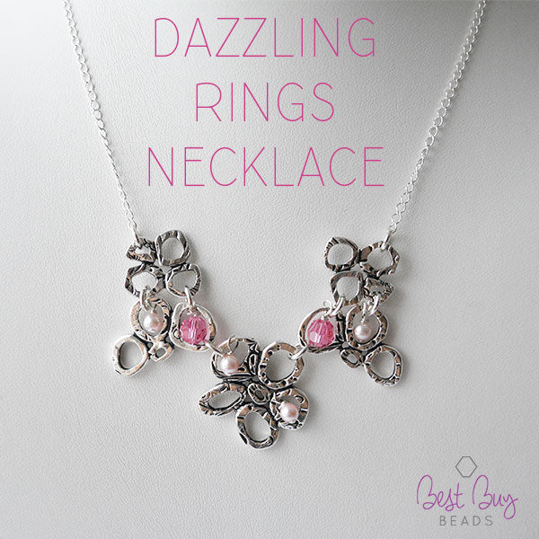 Dazzling Rings Necklace