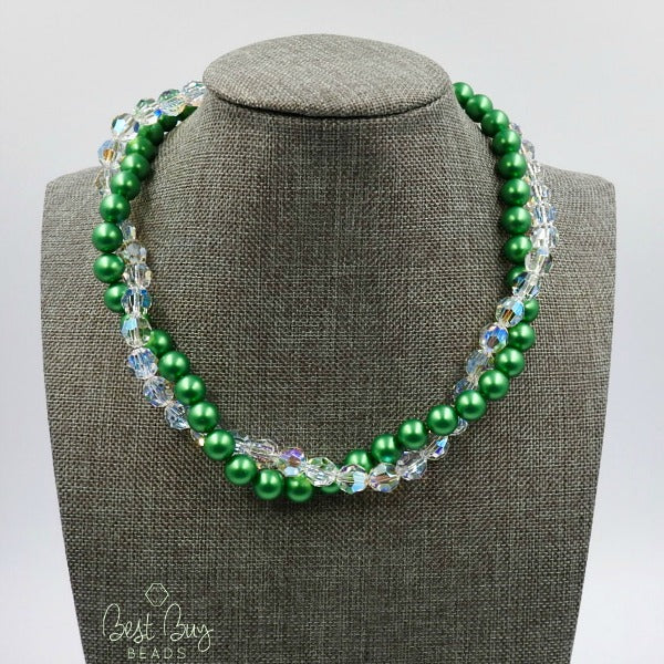 Double Strand Twist Necklace