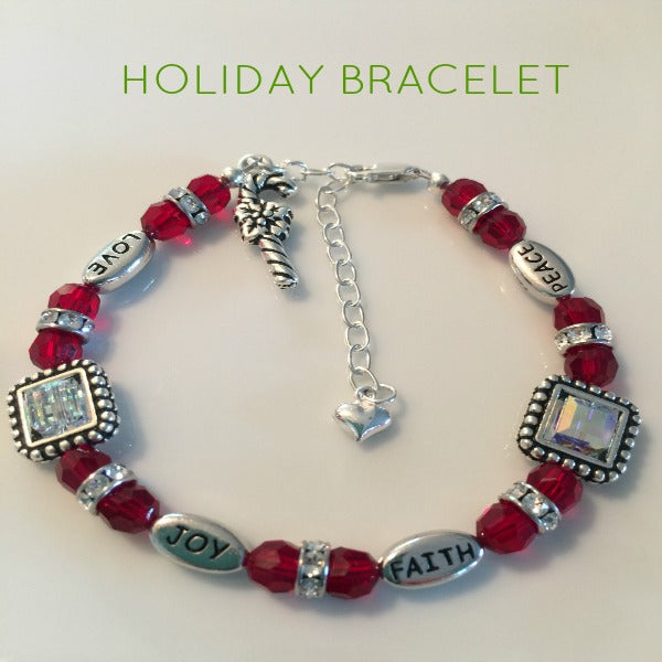 holiday bracelet design ideas for beaded - Beaded Bracelet Design Ideas