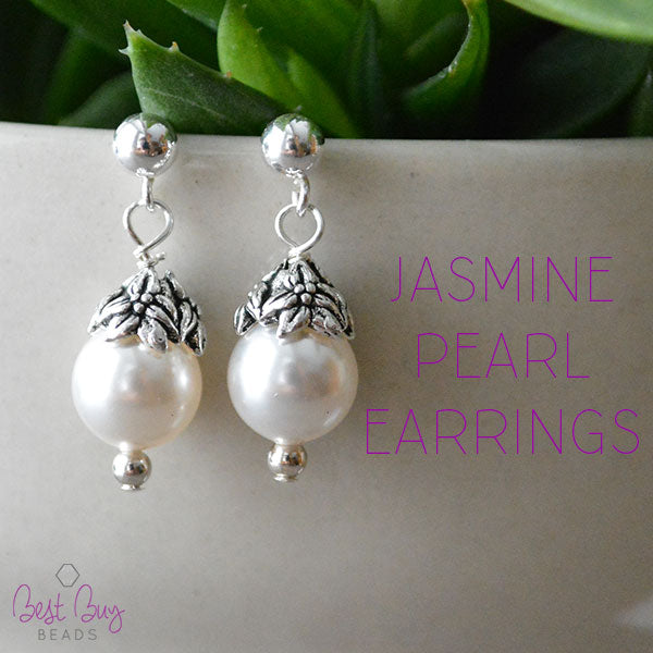 Jasmine Pearl Earrings