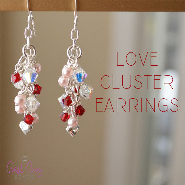 Love Cluster Earrings