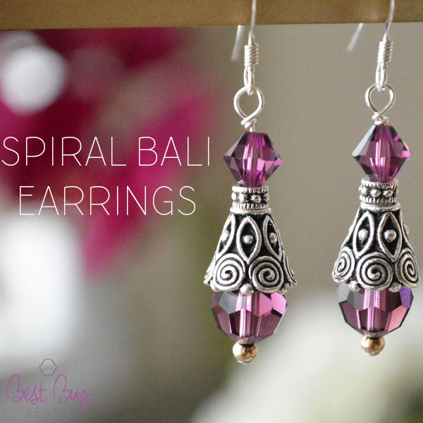 Spiral Bali Earrings
