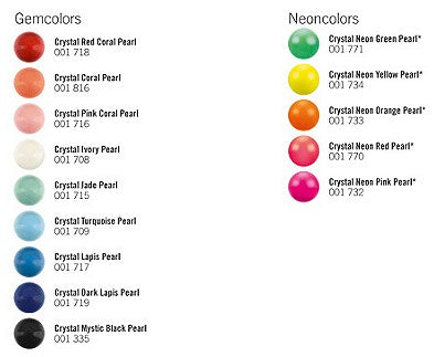 Swarovski Crystal Color Charts Best Buy Beads