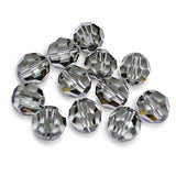 5000-8-bd Swarovski Crystal 8mm Round Black Diamond Beads (Package of 12 Beads)