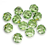 5000-8-pe Swarovski Crystal 8mm Round Peridot Beads (Package of 12 Beads)