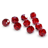 5000-6-si Swarovski Crystal 6mm Round Siam Beads (Package of 12 Beads)