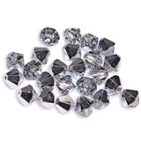5301 / 5328-4-cr-cal Swarovski Crystal 4mm Bicone Crystal CAL Beads (Package of 48 Beads)