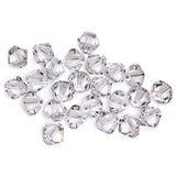 5301 / 5328-6-cr Swarovski Crystal 6mm Bicone Crystal Beads (Package of 24 Beads)