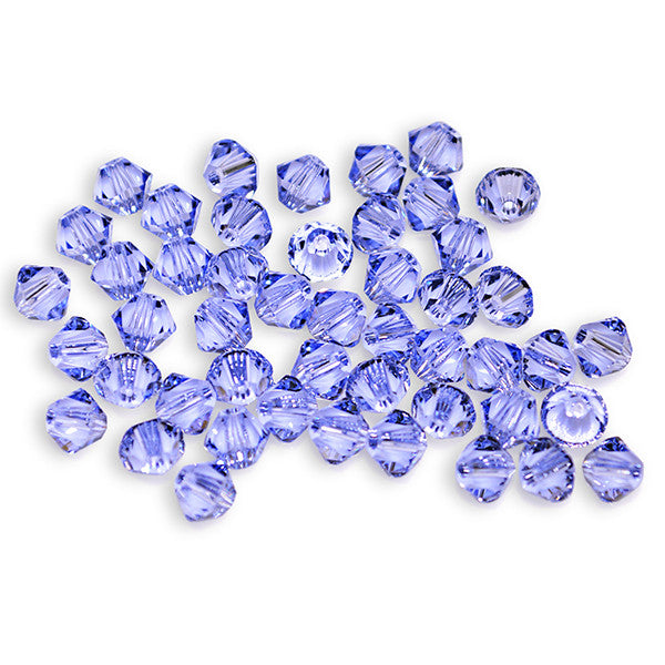 5301 / 5328-4-prol Swarovski Crystal 4mm Bicone Provence Lavender Beads (Package of 48 Beads)