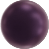 5810-6-elb Swarovski Crystal 6mm Elderberry Round Pearls (Package of 50 pearls)