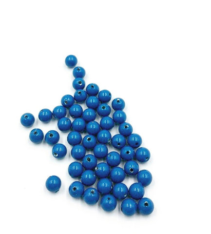5810-Swarovski Crystal 4mm Lapis Round Pearls (Package of 50 pearls)