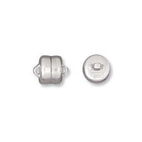 0545-6-sp Silver Plated 6mm Magnet Clasp (Package of 2 clasps)