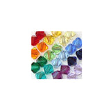 5301 / 5328-6/mix-sptrm Swarovski Crystal 6mm Bicone Bead Mix (13) - Colors of the Spectrum (Package of 24 Beads)