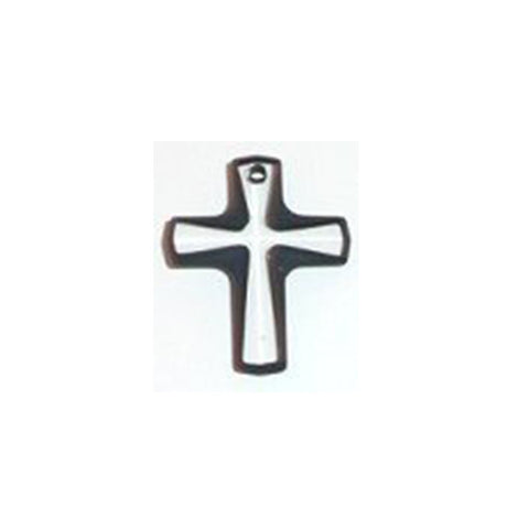 6860-20-cj Swarovski Crystal crystal 20x16mm Crystal Cosmojet Cross Pendant (Package of 2 pendants)