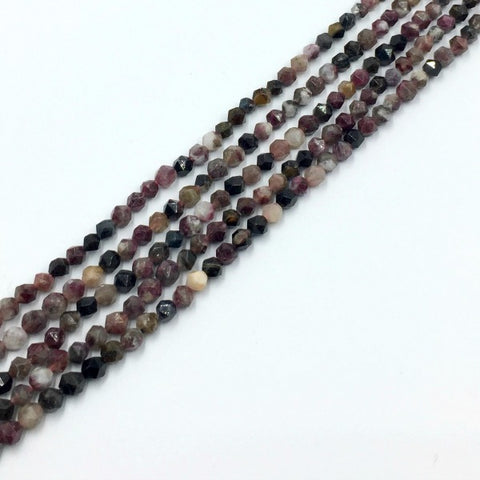 T6SCR15-16 - Dakota Stones Tourmaline 6mm Star Cut Round (17 beads per package)