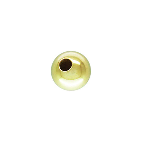 0561-25-gol 14K Gold Filled 2.5mm Smooth Round Beads (Package of 30 beads)