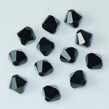 5301 / 5328-6-je Swarovski Crystal 6mm Bicone Jet Beads (Package of 24 Beads)