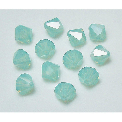 5301 / 5328-6-po Swarovski Crystal 6mm Bicone Pacific Opal Beads (Package of 24 Beads)