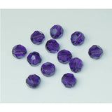 5000-6-pv Swarovski Crystal 6mm Round Purple Velvet Beads (Package of 12 Beads)