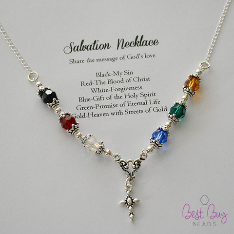 Salvation Necklace Kit (1 kit per package)