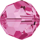 5000-4-ro Swarovski Crystal 4mm Round Rose Beads (Package of 24 Beads)