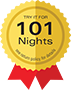 Try it for 101 nights – free returns
