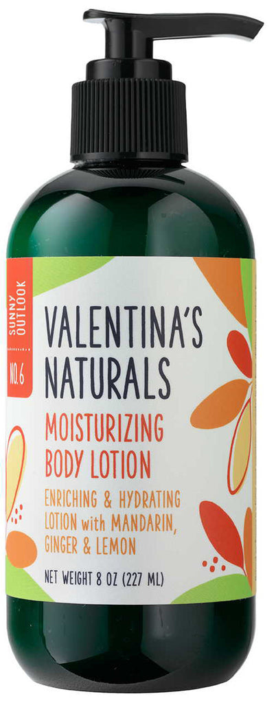 No. 6: Natural Body Lotion: Sunny Outlook, 8 oz