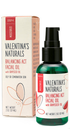 Step 4: Moisturizer: Balancing Act Facial Oil, 2 oz