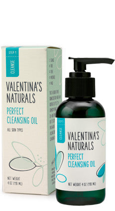 Step 1: Cleanser: Perfect Cleansing Oil, 4 oz