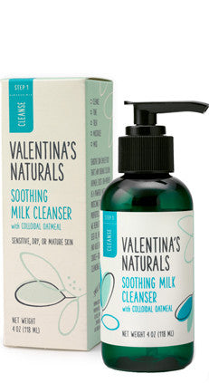 Step 1: Cleanser: Soothing Milk Cleanser, 4 oz