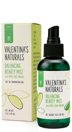 Step 2: Toner: Balancing Beauty Mist Toner, 4 oz