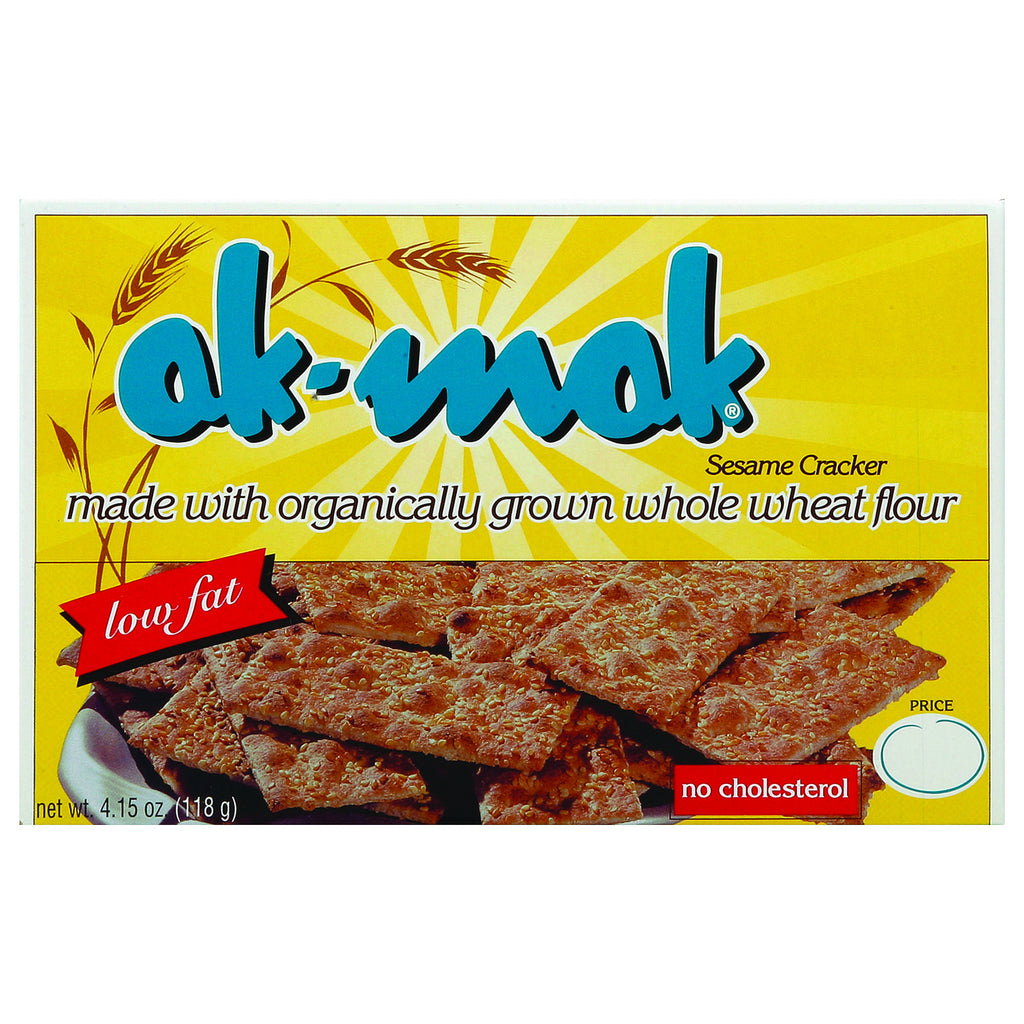 AK Mak Bakeries Armenian Bread - Sesame Crackers - Case of 1 - 4.15 oz.