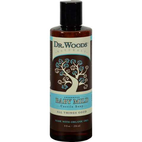 Dr. Woods Naturals Castile Liquid Soap - Baby - 8 fl oz