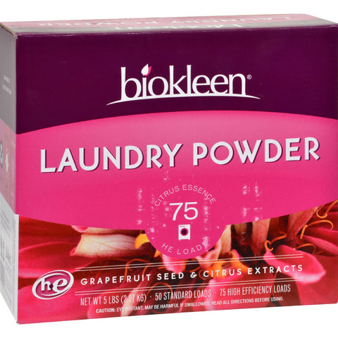 Biokleen Laundry Powder - All Temperature - 5 lbs