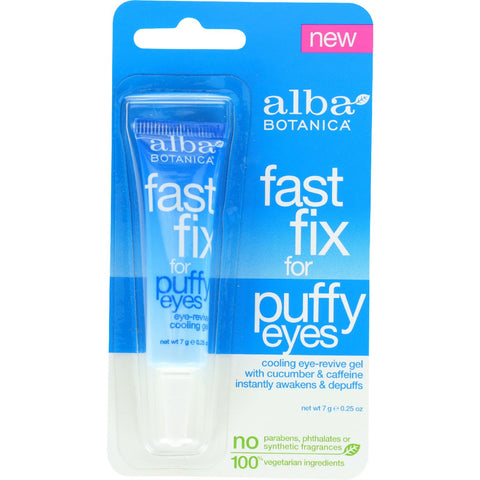 Alba Botanica Fast Fix For Puffy Eyes - .25 oz - case of 6