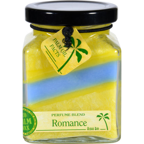 Aloha Bay Candle - Cube Jar - Perfume Blends - Romance - 6 oz