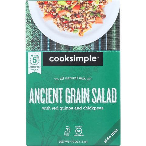 Cooksimple Ancient Grain Salad - 4 oz - case of 6