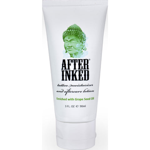 After Inked Tattoo Moisturizer and Aftercare Lotion - 3 fl oz