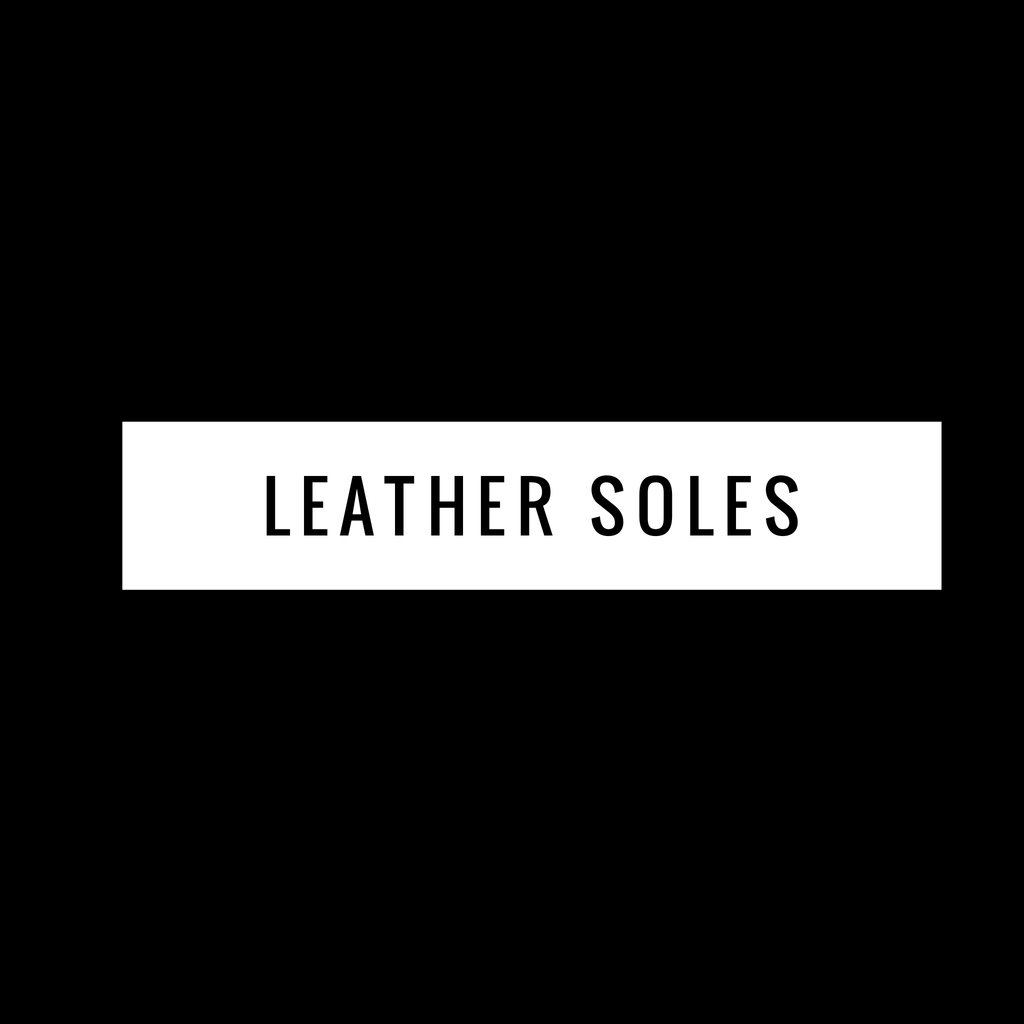 Leather Soles Upgrade