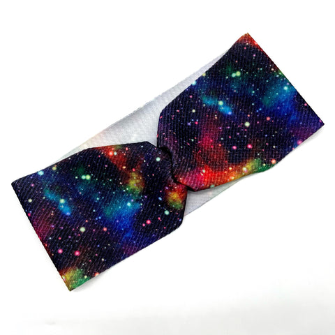 Ready to Ship Mama Headbands- Galaxy