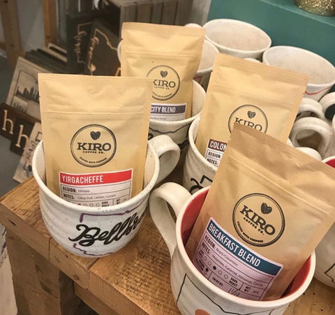 Kiro Coffee 2 Ounce Sample Bags Gifts