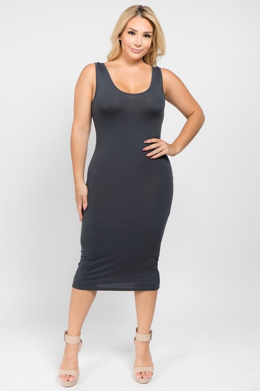 Rochelle Fitted Bodycon Dress (4 Colors)