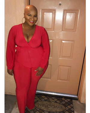 Candy Apple Jumpsuit