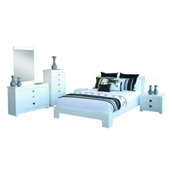 Arctic Bed Suite with Tallboy