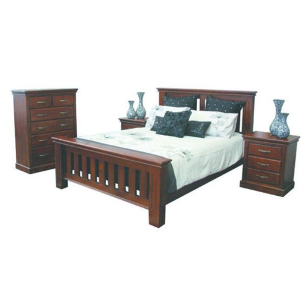 Stirling Bed Suite with Tallboy
